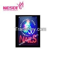 Nail LED Sign(KS-PLS001)
