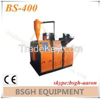 avaliable oversea BS-400 cooper wire granulating machine