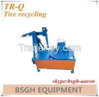 BSGH tire rim cutter tire recycling machine TR-Q tire sidewall cutting machin
