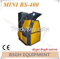 used scrap copper cable wire granulator chopping recycling machine for sale mini400