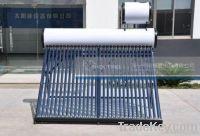 Integrative coiler pressurized solar water heater