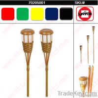 Bamboo Torch Solar Light