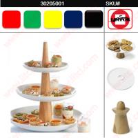 3-Tier Stand Sombrero Party Platter