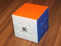 Free shipping! Hotsell Dayan V5 zhanchi 3x3x3 speed cube stickerless colored with ID card
