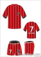 Custom Made Sublimated Soccer Uniform