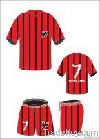 Custom Made Sublimated Soccer Uniform