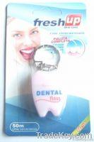tooth shape dental floss
