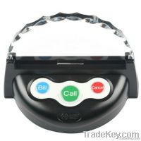 Wireless calling system restaurant waiter call button