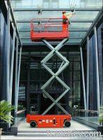 10m mobile scissor lift