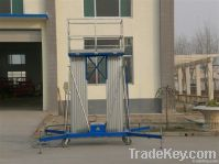 12m dual mast personal vertical lift platform