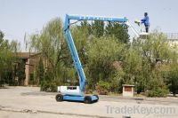 8m self-propelled articulated boom lift