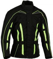Textile Motorbike Jacket Long Hivis