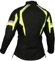 Textile Motorbike Jacket Hivis Womens