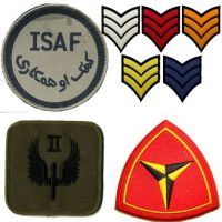 Machine Embroided Military Badge Patch