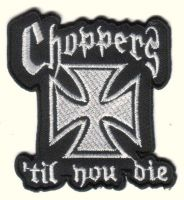 Biker Patches Badge Machine Embroided