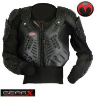 Motocross Motorcycle Body Armour Jacket CE