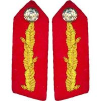 Gorget Military Shirt Collar Patch