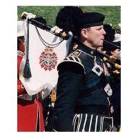 Bagpipe Banner Highland
