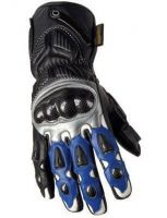 Racing Leather Gloves Refined Air-vent