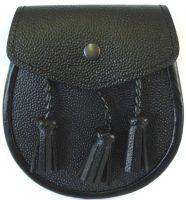 Scottish Sporran Full Leather