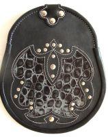 Leather Sporran Artistic Paintwork