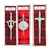 Scottish Dress Kilt Pin & Brooch