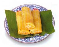 FROZEN SPRING ROLL FOOD