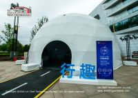 High Quality Geodesic Dome Tent With Withe PVC Cover For Outdoor Event