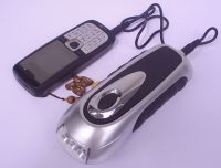 Dynamo Torch with Mobile Phone Charger
