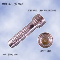 powerful LED flashlight
