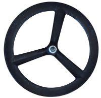 Carbon bicycle wheel