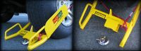 Cable-Clamp Wheel Clamp