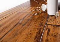 Hand Scraped Bamboo Flooring(Honey Teak Color)