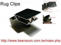 carpet display clips