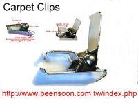 carpet display clips.