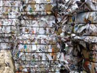 Mixed waste paper.