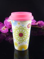 eco coffee cup, double wall