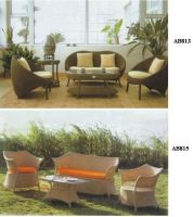 Strypped Down Rattan Furniture