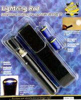 Lightning Rod: 800,000 Volt Stun Pen and LED Flashlight