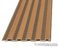 Wooden grooven  acoustics