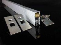 inner embedded sealing strip for soundproofing door bottom