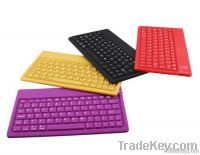 Bluetooth Wireless Keyboard and Leather Portfolio for iPad