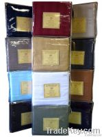 Christopher Adams Egyptian Comfort 1600 Damask Stripe Bed Sheets