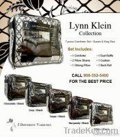 LYNN KLEIN 7 PIECE COMFORTER SET
