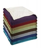Ultra Plush Sherpa Comforter - Queen Size