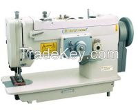 1-Needle Flat Bed Upper& Bottom Feed Industrial Sewing Machine