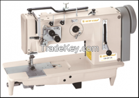 Single/Two Needle Lockstitch Flatbed Industrial Sewing machine