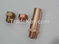 Spot welding electrode adapter