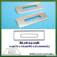 Carpet cutter replacement blade