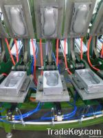 Automatic production line for Shoes soles foaming
